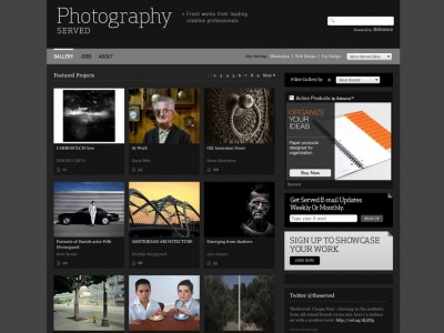 Get Inspired: Photography Served