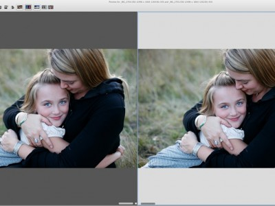 Comparing Photos Using Photo Mechanic