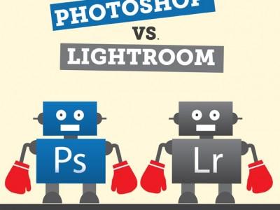 Photoshop vs. Lightroom: The Epic Battle