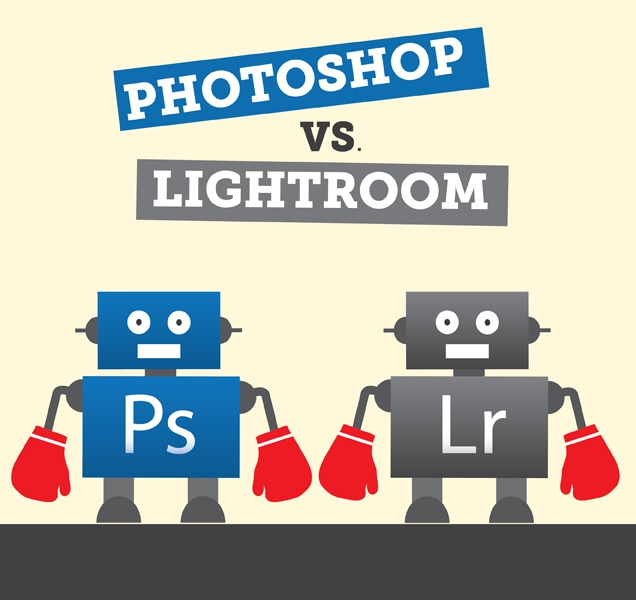 Photoshop vs. Lightroom: The Epic Battle