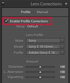 2 Useful Sony NEX Lightroom Tips
