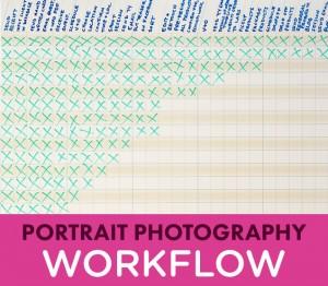 Portrait Photography Workflow
