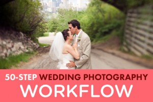 50 Step Wedding Photography Workflow