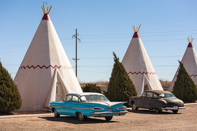 Getting The Shot: Wigwams and Classic Cars