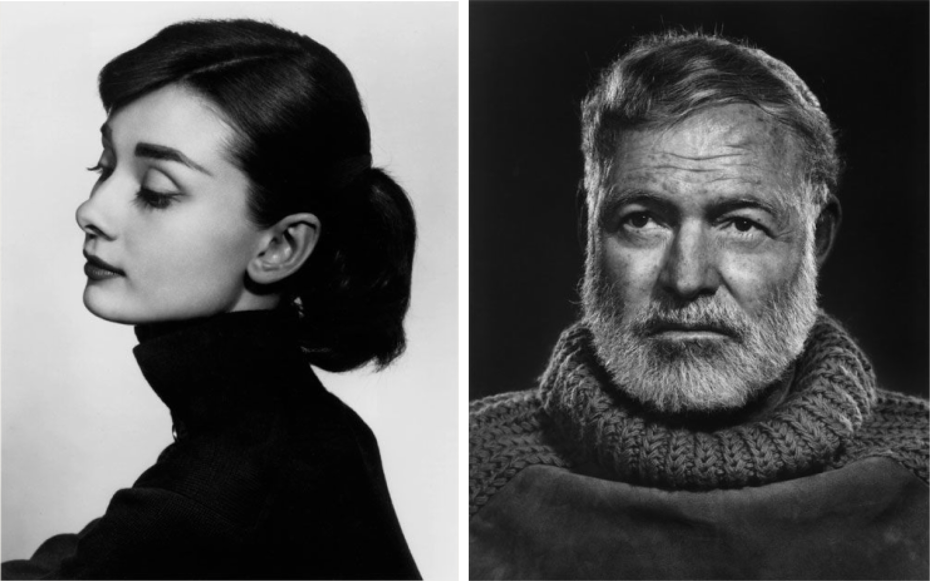 Yousuf Karsh / photographe - Audrey Hepburn