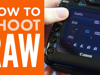 How To Shoot RAW