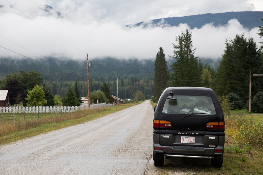 Pulled Over On Highway : Camping on vancouver island a road trip in photos