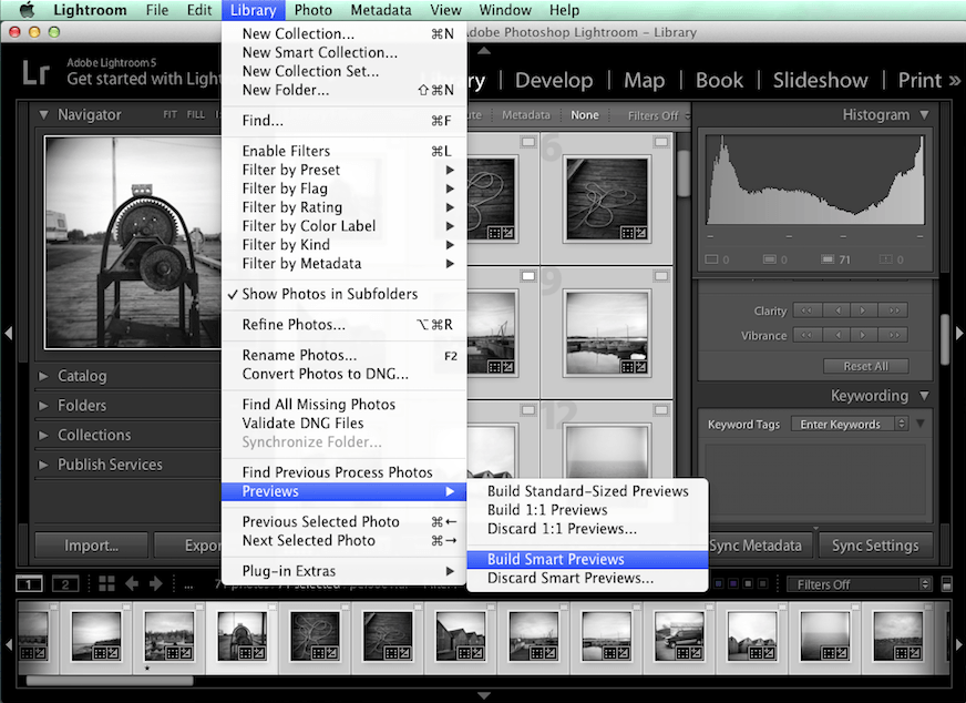 How to Use Lightroom Smart Previews