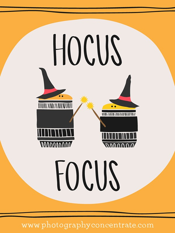 Free Hocus Focus Photography Halloween Card