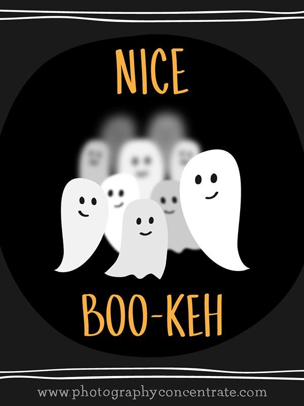 Free Nice Boo-Keh Halloween Photography Card