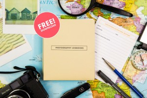 New FREEBIE! The Photography Logbooks