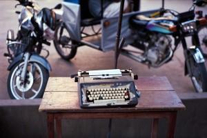 Photo Journal: Typewriter from Peru