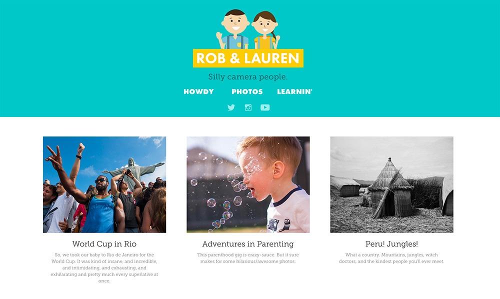 I Made My New Website Last Night With Adobe Portfolio