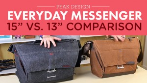 """<span class=""""entry-title-primary"""">Peak Design Everyday Messenger: 13″ vs. 15″</span> <span class=""""entry-subtitle"""">A comparison of the two sizes of the crazy popular bag</span>"""