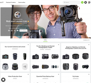 """<span class=""""entry-title-primary"""">We're on Kit.com!</span> <span class=""""entry-subtitle"""">An easy way to browse recommended gear</span>"""