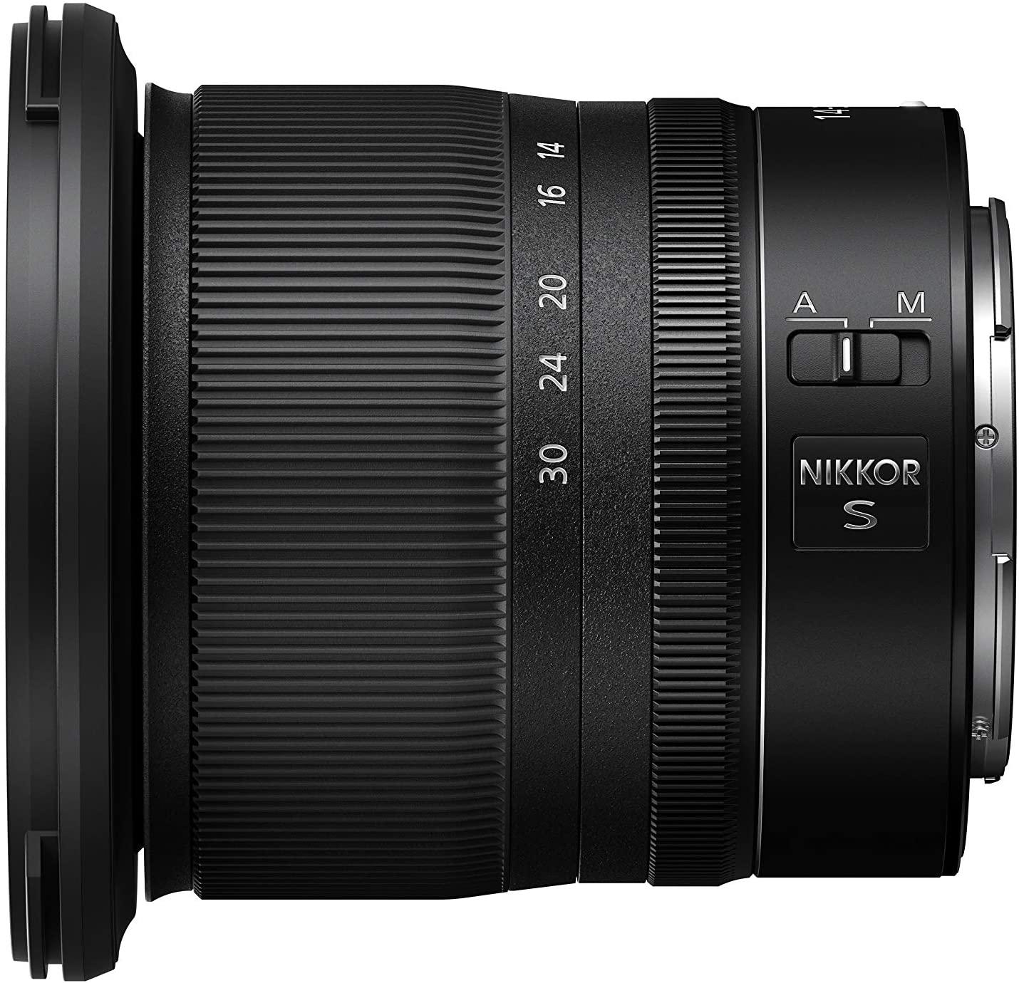 Nikon Z 14-30mm F:4 S широкоугольный объектив