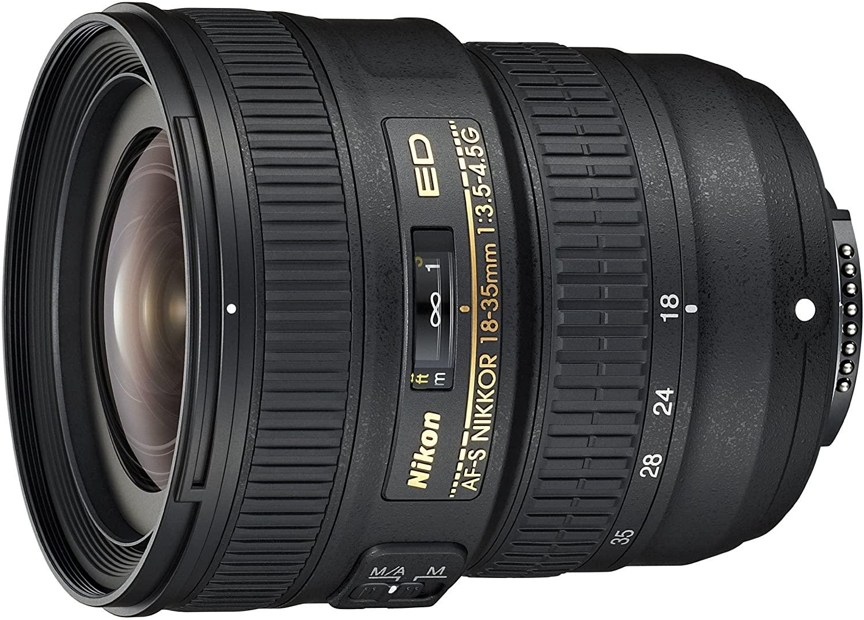 Nikon AF-S FX NIKKOR 18-35мм f:3.5-4.5G Эд зум-объектив