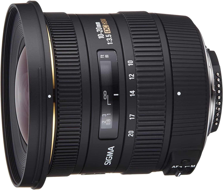 Sigma 10-20mm f / 3.5 EX DC супер широкоугольный объектив для зеркальных камер Nikon