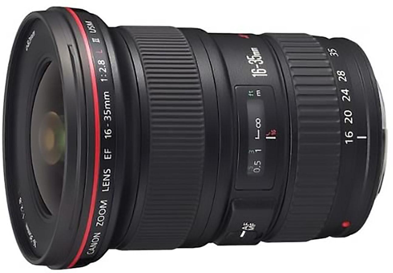 Canon EF 16-35mm f:2.8L объектив с переменным фокусным расстоянием II USM