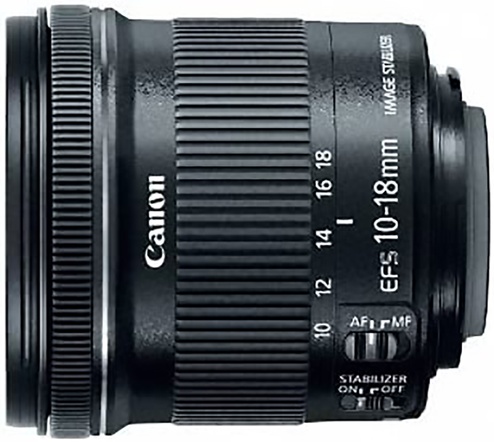 Canon EF-S 10-18mm f:4.5-5.6 IS STM объектив