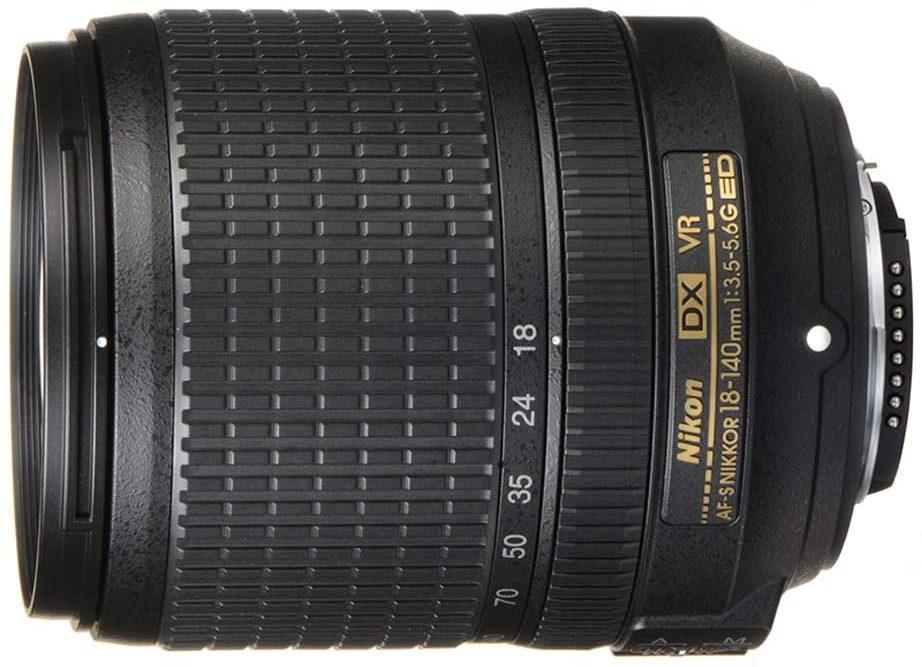 Nikon AF-S DX NIKKOR 18-140мм f:3.5-5.6G Эд зум-объектив