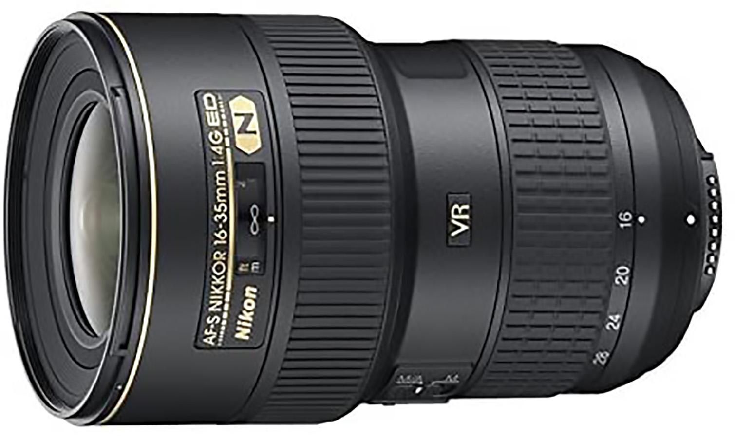Nikon AF-S FX NIKKOR 16-35mm f:4G ED зум-объектив