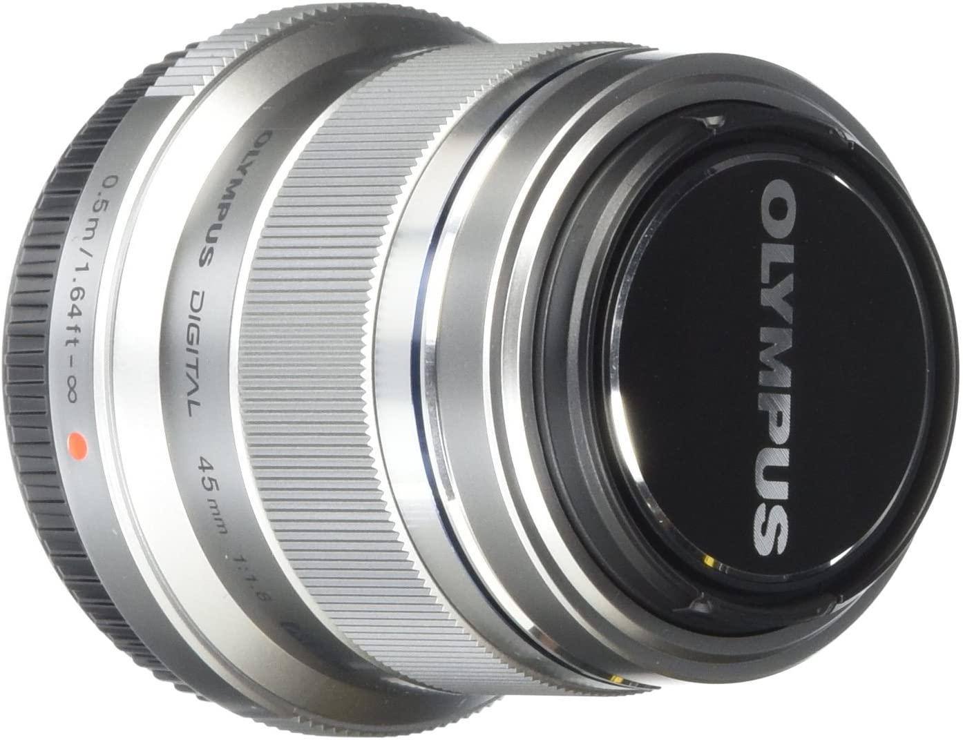 Olympus M.Zuiko Digital 45mm F1.8 Portrait Lens